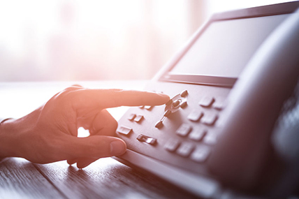 Wesley Chapel Businessman Calling Through Their New Phone System