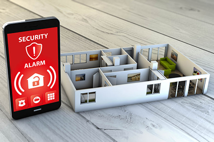Fire Alarm System in Wesley Chapel FL Synced with a Mobile App