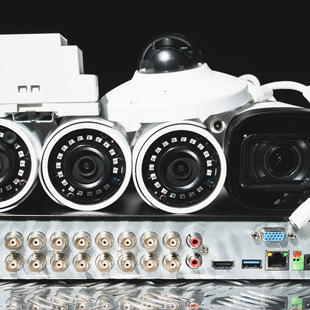 DVR Security System Procured for Wesley Chapel Company