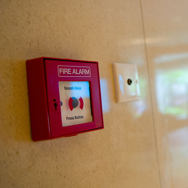 Fire Alarm and Security System Installed in a Wesley Chapel Building