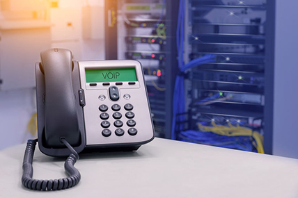 Newly Installed VoIP Phone System in a Wesley Chapel Company